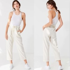 Urban Outfitters Eve paper bag high waist pants